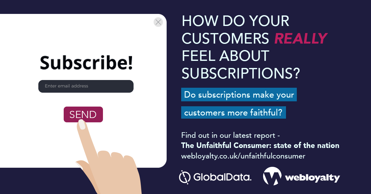 subscriptions how do you customers really feel