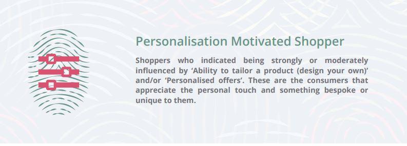 webloyalty defines personalisation as a shopper motivator