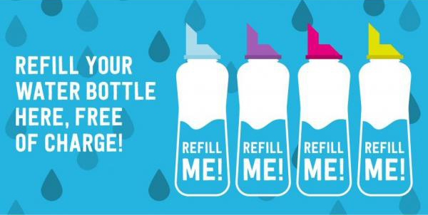 Refill me campaign in the leisure and hospitality report sponsored by webloyalty