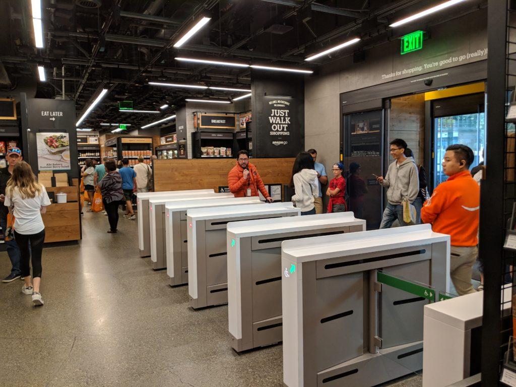 Amazon Go digital retail